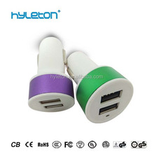 Top selling product 5V 2.1A car usb charger universal car charger micro usb