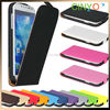high quality pu leather case for samsung galaxy s4,for samsung galaxy s4 flip leather case cover