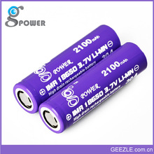 30A 2100mAh Battery Gpower 18650 Rechargeable Battery 1x18650 lithium Rechargeable Battery