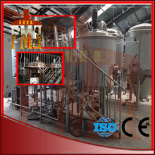 stainless steel steam jacket mashing system