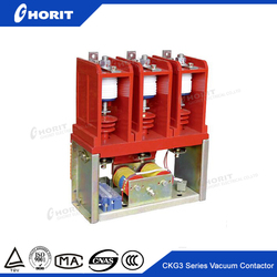 CKG3-7.2 160A 630A 3 phase dc ac electrical contactor 220v