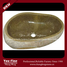 Hand Carved Indoor Used Stone Small Wash Art Basin
