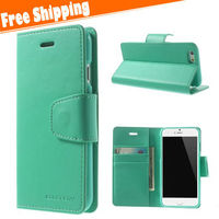 Mobile Accessories Wholesale,Wallet PU Leather Case For Iphone 6 4.7,Fashion Mobile Phone Leather Case