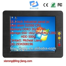 12.1 inch High quality professional embedded computer (PPC-121C), with wide pressure 6~30V