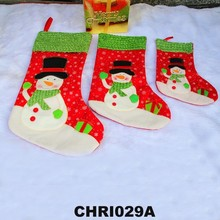 Cheap Best selling Christmas santa clause socks,christmas socks ornament,christmas sock bag christmas decoration