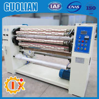 GL--210 BOPP Tape Roll Slitter Manufacturer, BOPP Tape Slitting Machinery Supplier, BOPP Tape Slitter Manufacturer