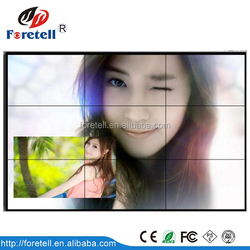 55inch LED Ultra Narrow Bezel LCD Video Wall HD 3.5mm bezel