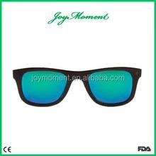 High Quality Spring Metal Hinge,Zebra Wood Sunglasses with Bamboo Box