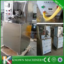 Ice Cream Hollow Tube Corn puffing Machine,stainless steel puffed corn snacks machine/corn puff snack extruder