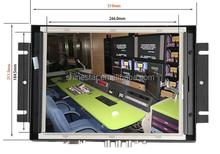 17 inch open frame wifi digital ads display with body sensor