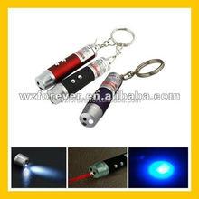 3 in 1 UV Light Detector Red Laser Pointer With Mini LED Flashlight
