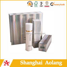 fancy paper cosmetical box packing