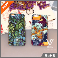 Wholesale Flip PC Skin Cover Phone Case Accessories For iphone 6 6s plus
