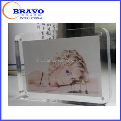 6 x 4 Clear acrylic block photo frame, Acrylic photo booth frames, Acrylic Photo frames wholesale