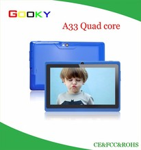 "Quad Core A33 16GB 7"" Tablet PC Android 4.4 Kitkat Capacitive WiFi NEW"
