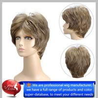 Synthetic Fiber Wigs,High Quality Synthetic Pink Wig,Carnival Wig