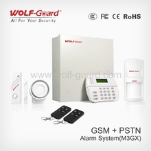 Easy Operation GSM+PSTN Alarm System with Touch Keypad and Cid Factory Wholesale Directly(YL-007M3GX)