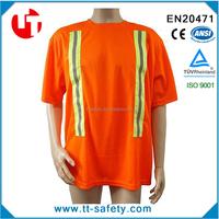 cotton FL-orange safety shirts