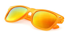 Interchangeable temple uv400 lens aviator polarized fishing sunglasses