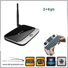 promotion price RK3188 Android 4.2 android tv box 8gb Rom Rk3188 Quad Core Google Android 4.4 Tv Box