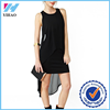 Summer women dress 2015 New Casual Chiffon long beach dress O-neck sleeveless Yihao