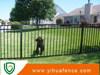 2015 hot sale easy installation aluminum tube fence