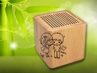 Hairong wireless portable music angel cube speaker for Promotions