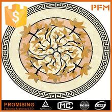 Pulido superficie natural de construcción materail de cerámica medallones