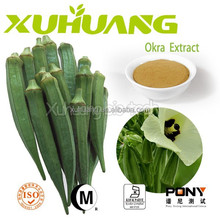 GMP Standard Natural for Men's Health Top Quality Okra extract,Okra extract powder