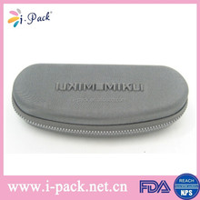 Custom printed EVA sunglasses case box with embossed printing pattern