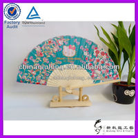 Bamboo Japanese Products Oriental Fabric Fan