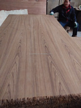 fancy veneer mdf board nature teak face with wax