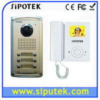 3.5'' color install video door phone with night vision for apartment