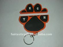 OEM USB gifts,animal paws shape PVC material promotional USB flash drives