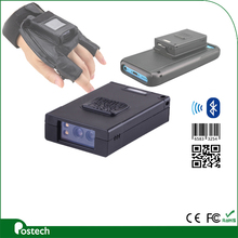 Factory price !! MS3392 Mini bluetooth 2d barcode scanner software with glove for android, ios, tablet pc, win7/8