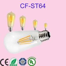Manufacturer Vintage Antique Edison Bulb Decorative Filament Light Bulb 110-130v/220-240v Industrial Bare Bulb