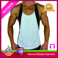 mens gym in bulk 2015 sportswear, stretch cotton gym top singlet for men