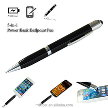 New product power bank,stylus screen touch pen oen porbable charger