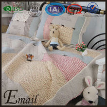 Hot sale high quality and competitive price creative embroidery pattern baby bedding set/sets