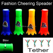 HT Plastic Vuvuzela Horns Games Football Trumpet Cheerleading Powerful Cheering Cheap Loudspeaker
