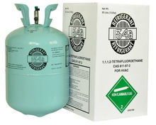 New type refrigerant gas R134A for car used
