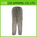 100% algodón hombres trabajan pantalones