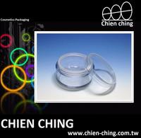 Empty Plastic Cosmetic Packaging Loose Powder Jar