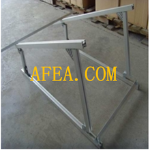 Aluminum solar panel mounting rail/bracket/accessories