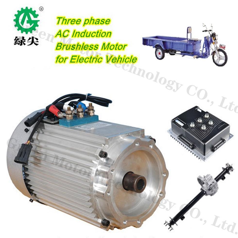 3 15kw High Power Electric Car Motor 5 Kw Electric Car