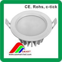 2012 new ic solution led downlight waterproof