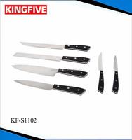 Stainless steel 5Cr15 MOV Japanese 6 pcs knife set