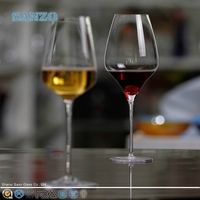 SANZO Novelty High-end Souvenir Wine Glass for Decorating Use