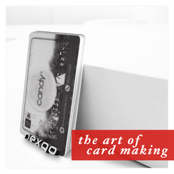 Card maker plastic card clear NFC business card with chip nxp ntag 213