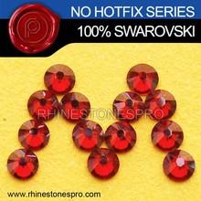 New Style Swarovski Elements Red Magma (REDM) 34ss Flat Back Crystal No Hot Fix Rhinestone